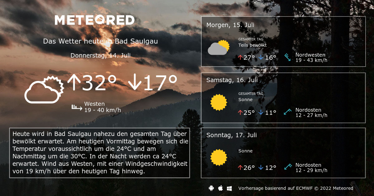 Wetter Bad Saulgau