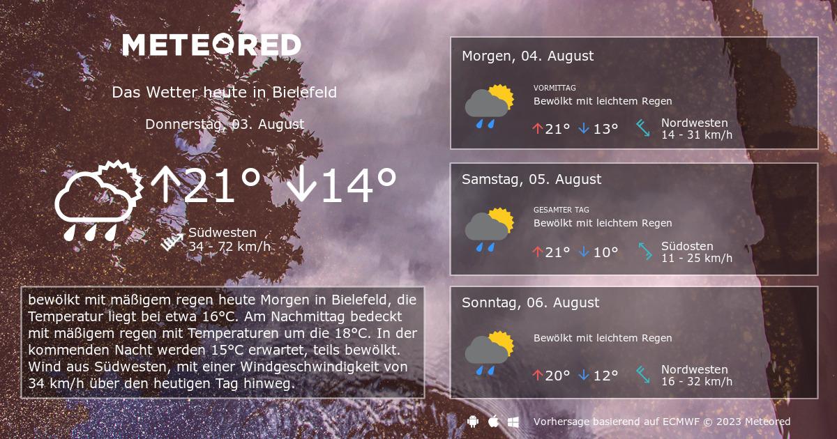 Bielefeld Wetter 10 Tage