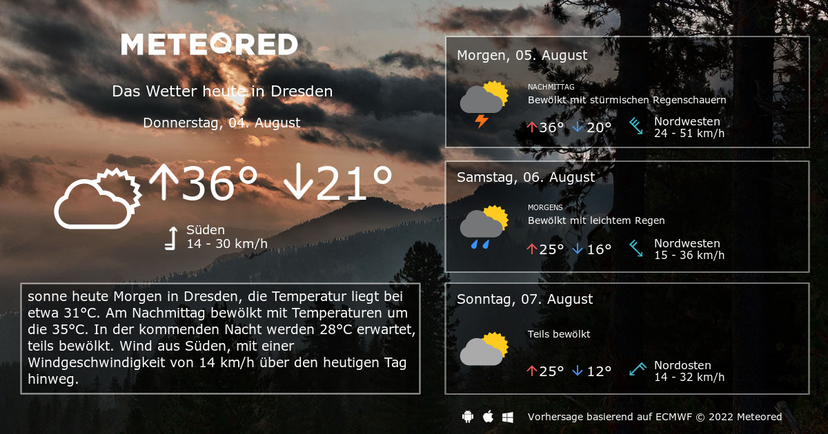 wetter in dresden 7 tage