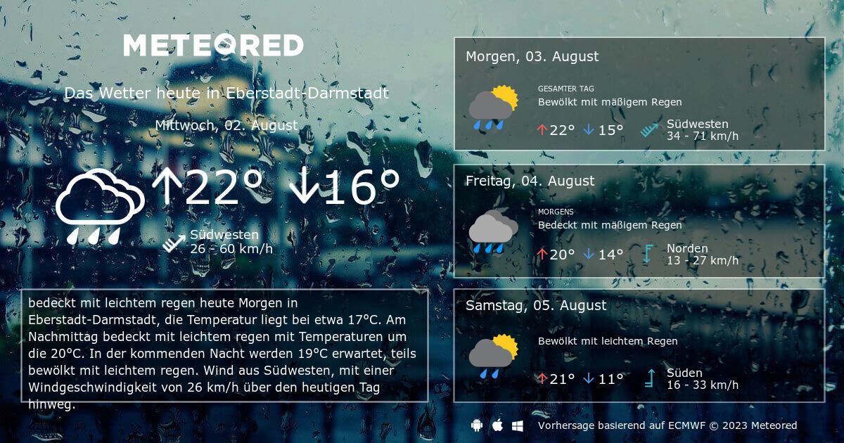 Wetter Darmstadt Aktuell