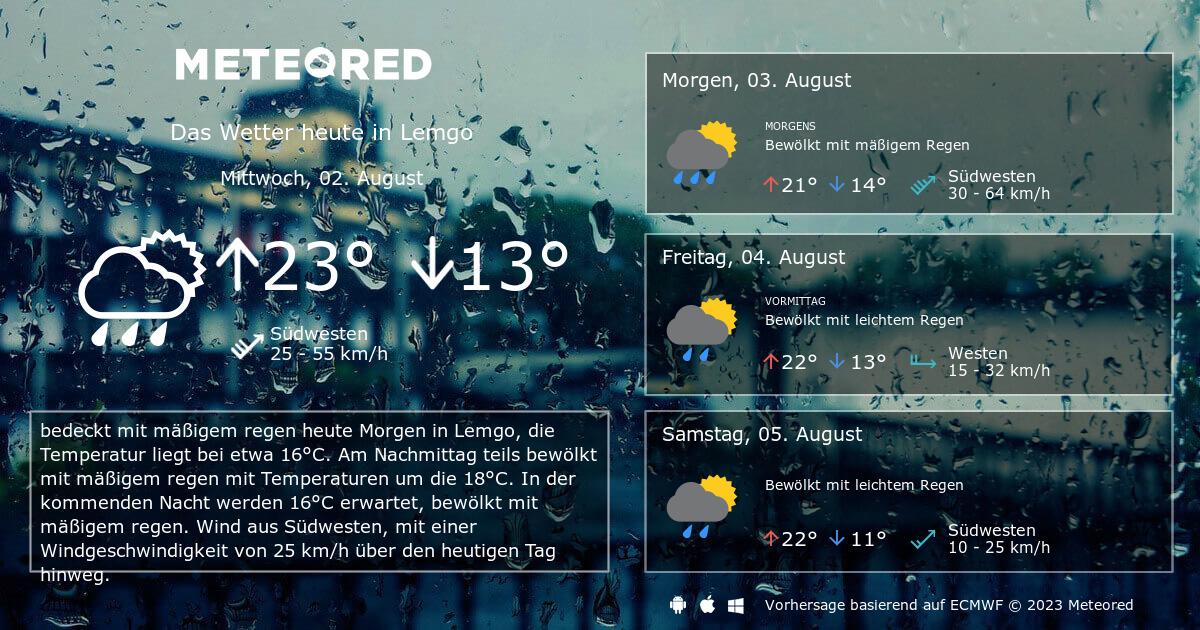 Wetter Heute Lemgo