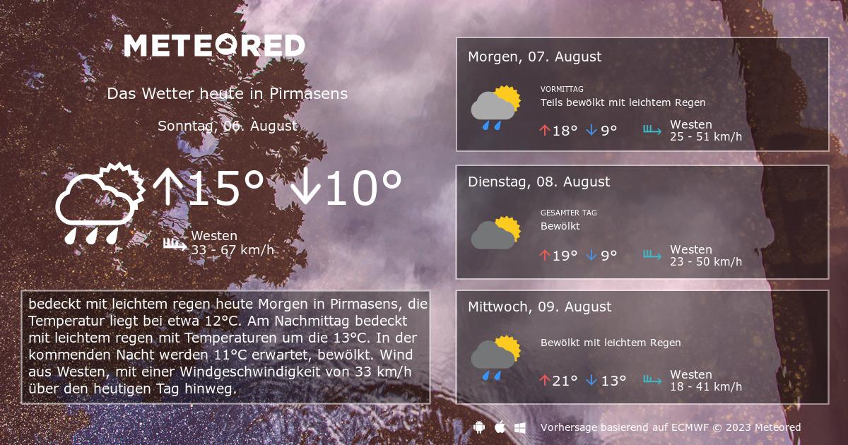 Wetter Heute Pirmasens