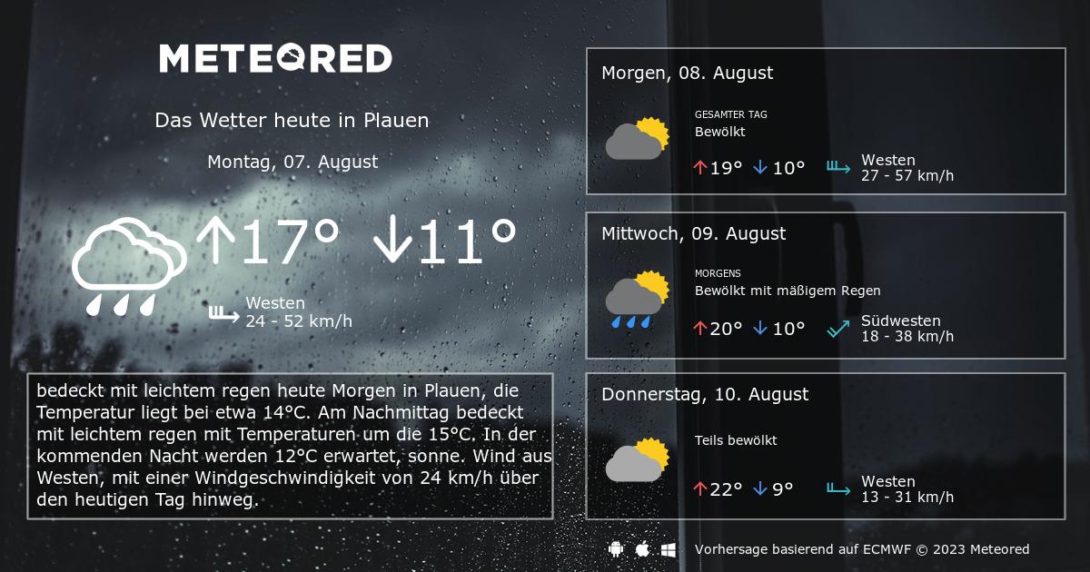 Wetter Plauen 14 Tage Vorhersage