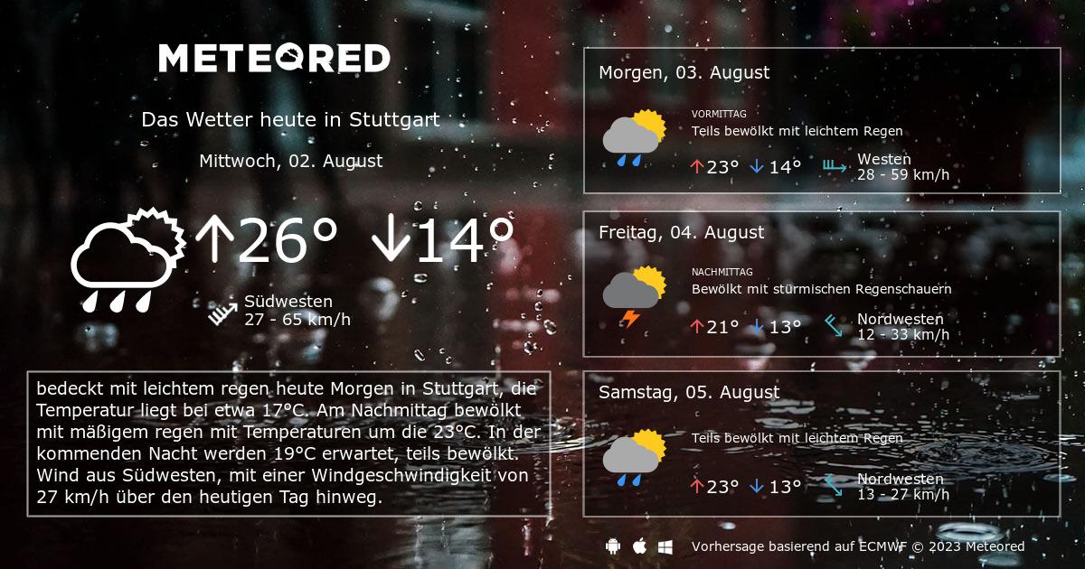Stuttgart Wetter 7 Tage