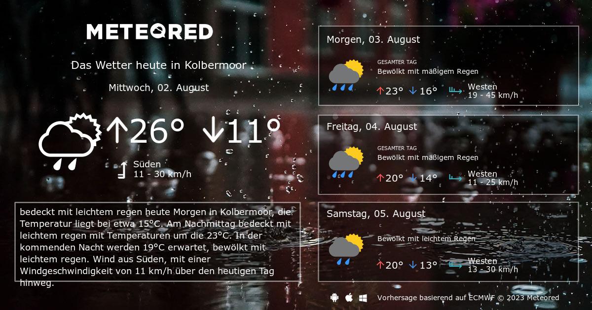 Wetter Kolbermoor 14 Tage Daswettercom