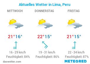 Lima Wetter
