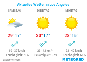 Reisewetter Los Angeles