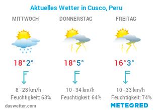 Cusco Wetter