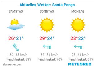 Santa Ponca Wetter