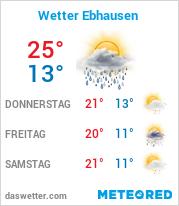 Wetter in Ebhausen
