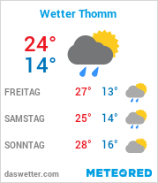Wetter in Thomm