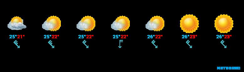 Wetter für Gran Canaria