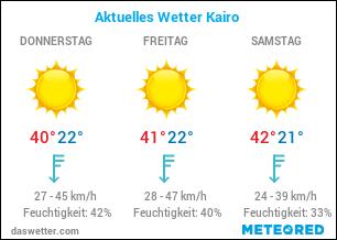 Aktuelles Wetter Kairo