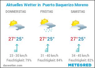 Wie ist das aktuelle Wetter in Puerto Baquerizo Moreno?
