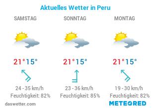 Peru Wetter